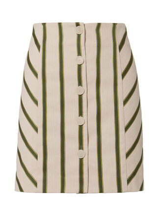Monica Striped Skirt, MULTI, hi-res
