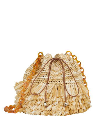 Corallina Small Raffia Bag, BEIGE, hi-res