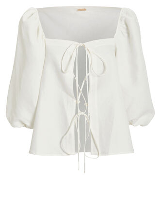 Aurel Top, WHITE, hi-res