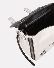 PS1+ Zip Leather Backpack, WHITE, hi-res