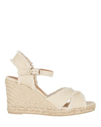 Bromelia Espadrille Wedge Sandals, IVORY, hi-res