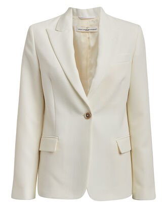 Venice Single Breasted Blazer, IVORY, hi-res