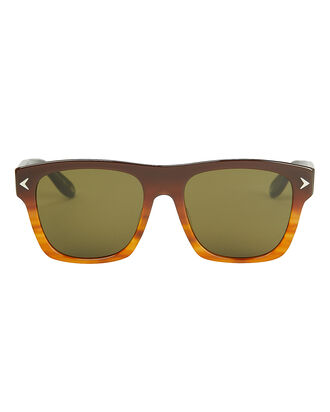 7011 Wayfarer Sunglasses, BROWN, hi-res
