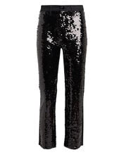 Ruby Cropped Sequin Jeans, BLACK, hi-res