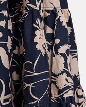 Wethersfield Floral Puff Sleeve Maxi Dress, NAVY/FLORAL, hi-res