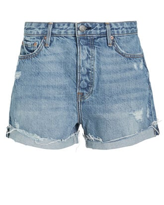 Kerry Denim Shorts, LIGHT BLUE WASH, hi-res