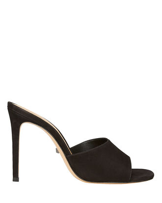 Bardana Open Toe Heels, BLACK, hi-res