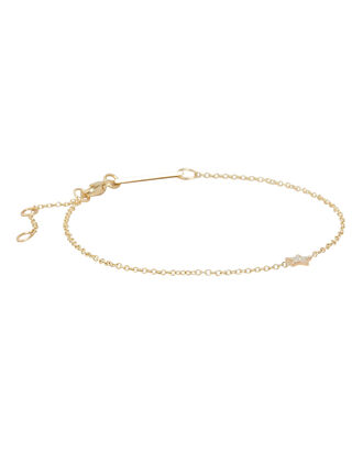 Itty Bitty Star Bracelet, GOLD, hi-res