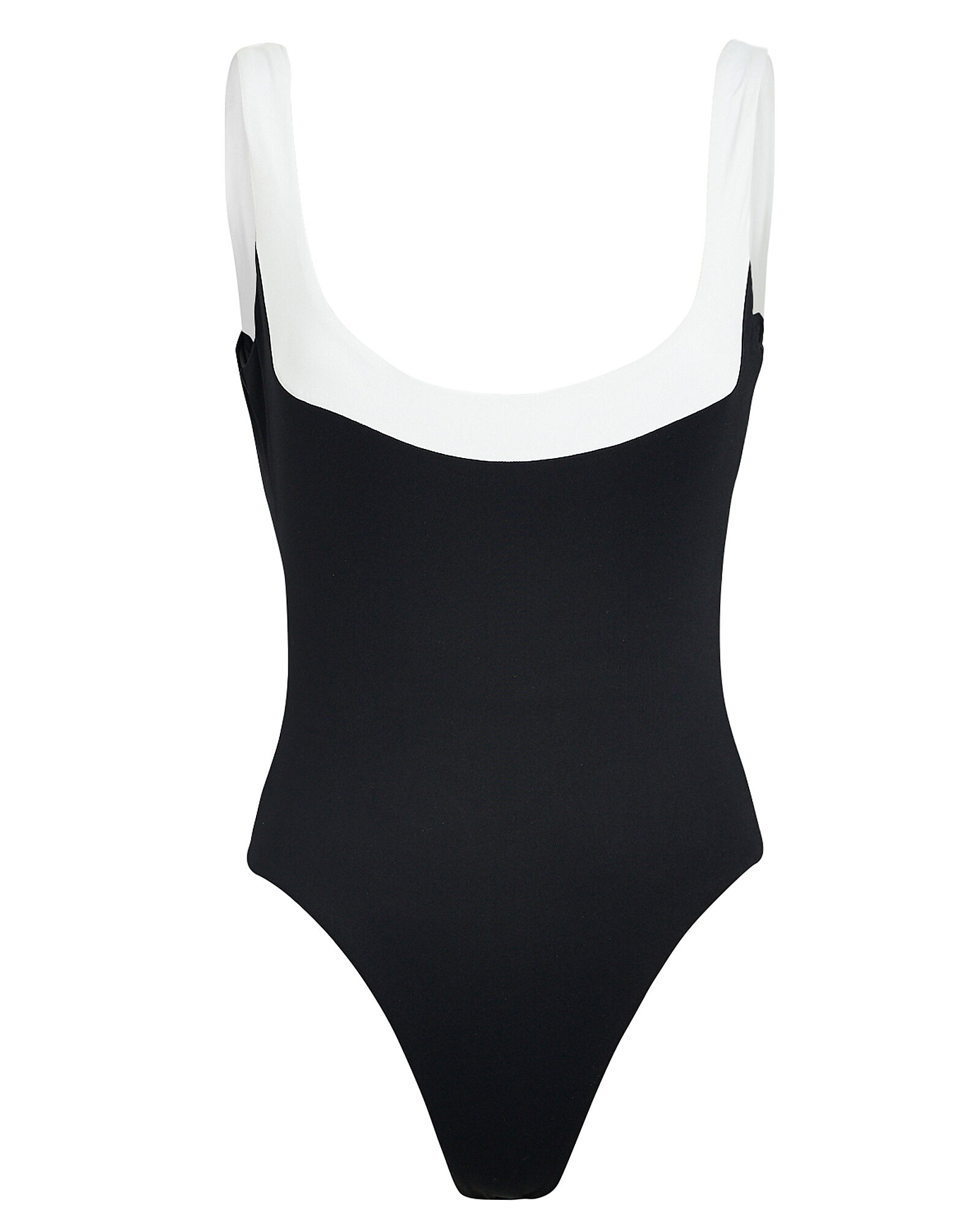 Cecil One-Piece Swimsuit, BLACK, hi-res
