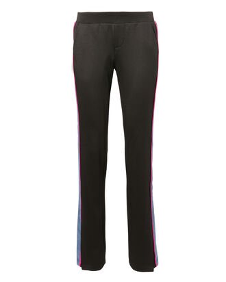 Tuxedo Stripe Sweatpants, BLACK, hi-res