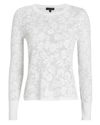 Perry Long Sleeve Top, WHITE, hi-res