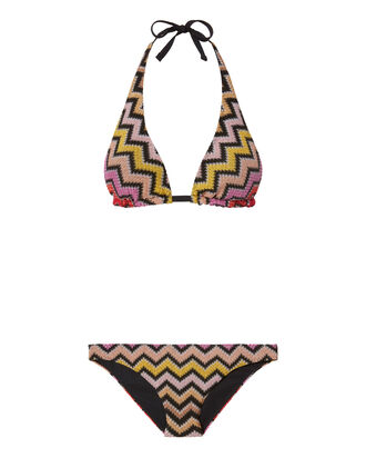 Zig Zag Triangle Bikini, MULTI, hi-res