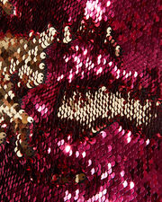Pink And Gold Sequin Strapless Top, PINK-DRK, hi-res