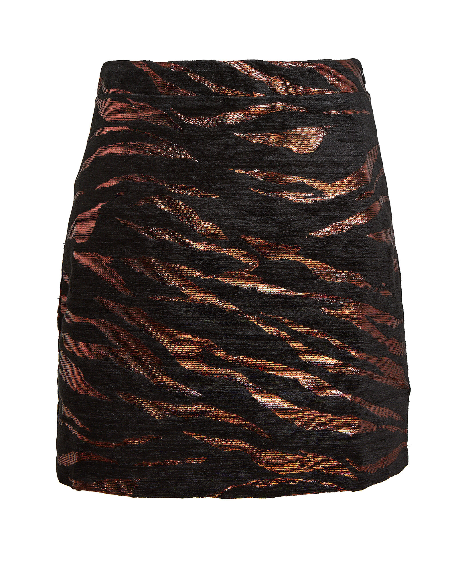 Bertha Zebra Jacquard Mini Skirt, MULTI, hi-res
