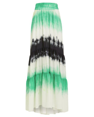 Hopkins Tie-Dye Maxi Skirt, MULTI, hi-res