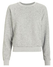 50s Crewneck Sweatshirt, GREY-LT, hi-res