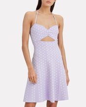 Shila Polka Dot Dress, LILAC/POLKA DOT, hi-res