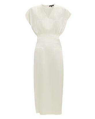 Tapered Ivory Dress, IVORY, hi-res
