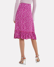 Margit Wrap Skirt, PURPLE, hi-res