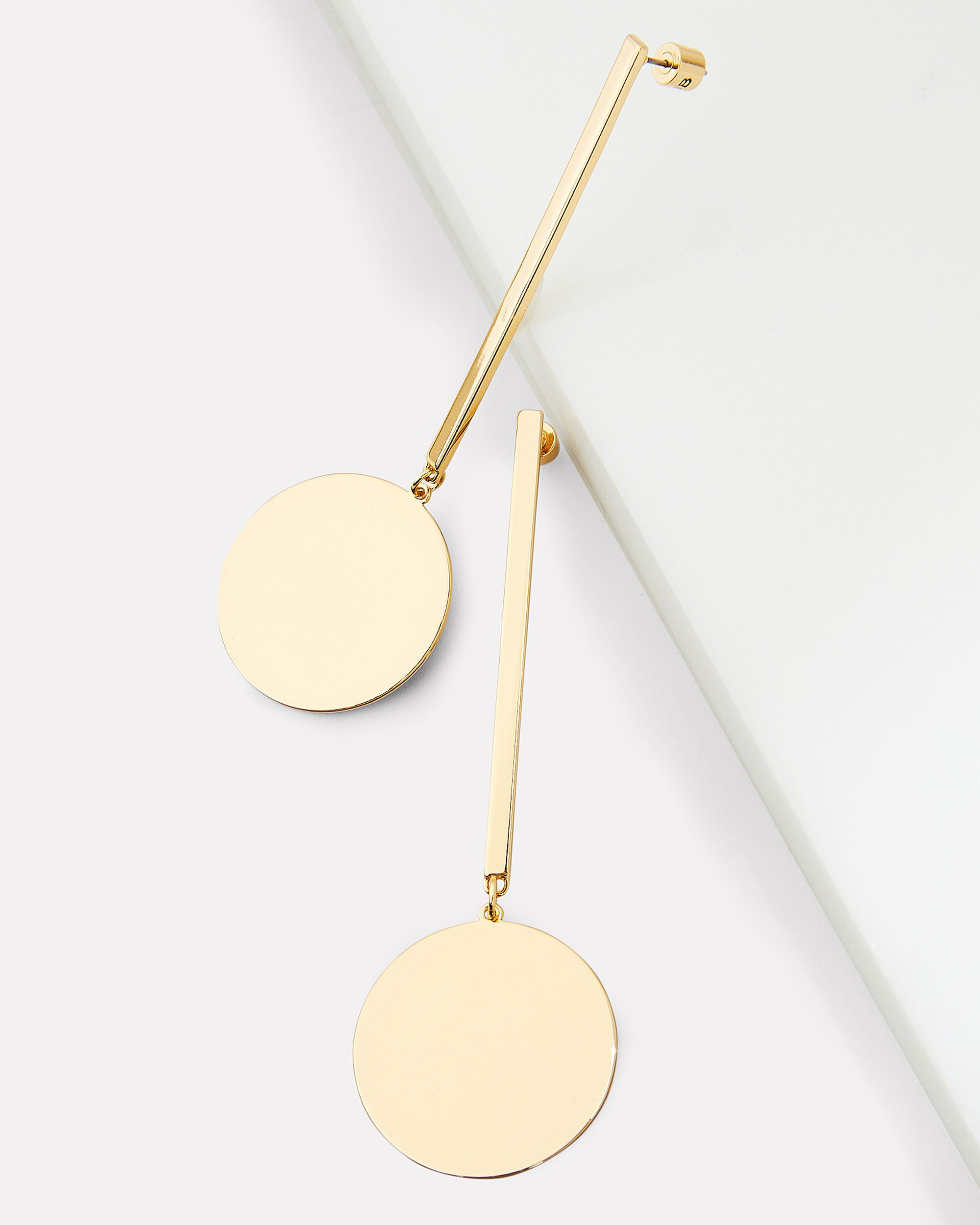 The Andies Geometric Drop Earrings, GOLD, hi-res