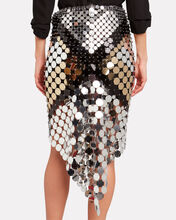 Two-Tone Pastilles Skirt, SILVER/GOLD, hi-res
