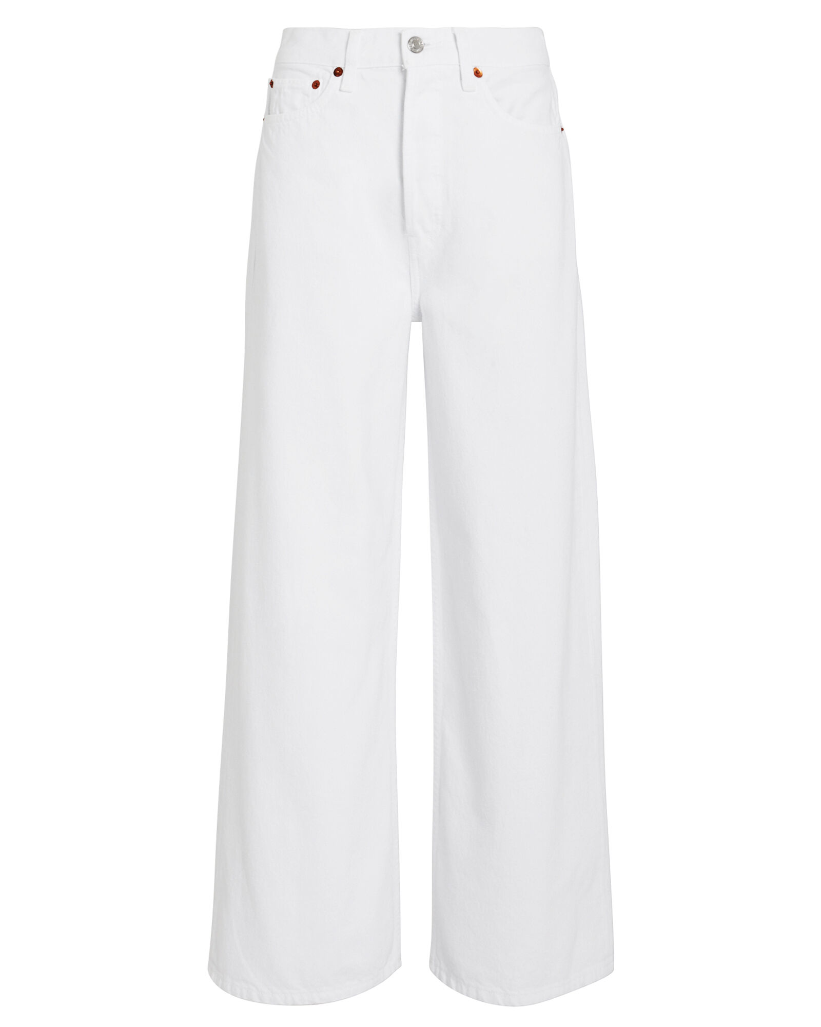 60's Extreme Wide Leg Jeans, WHITE, hi-res