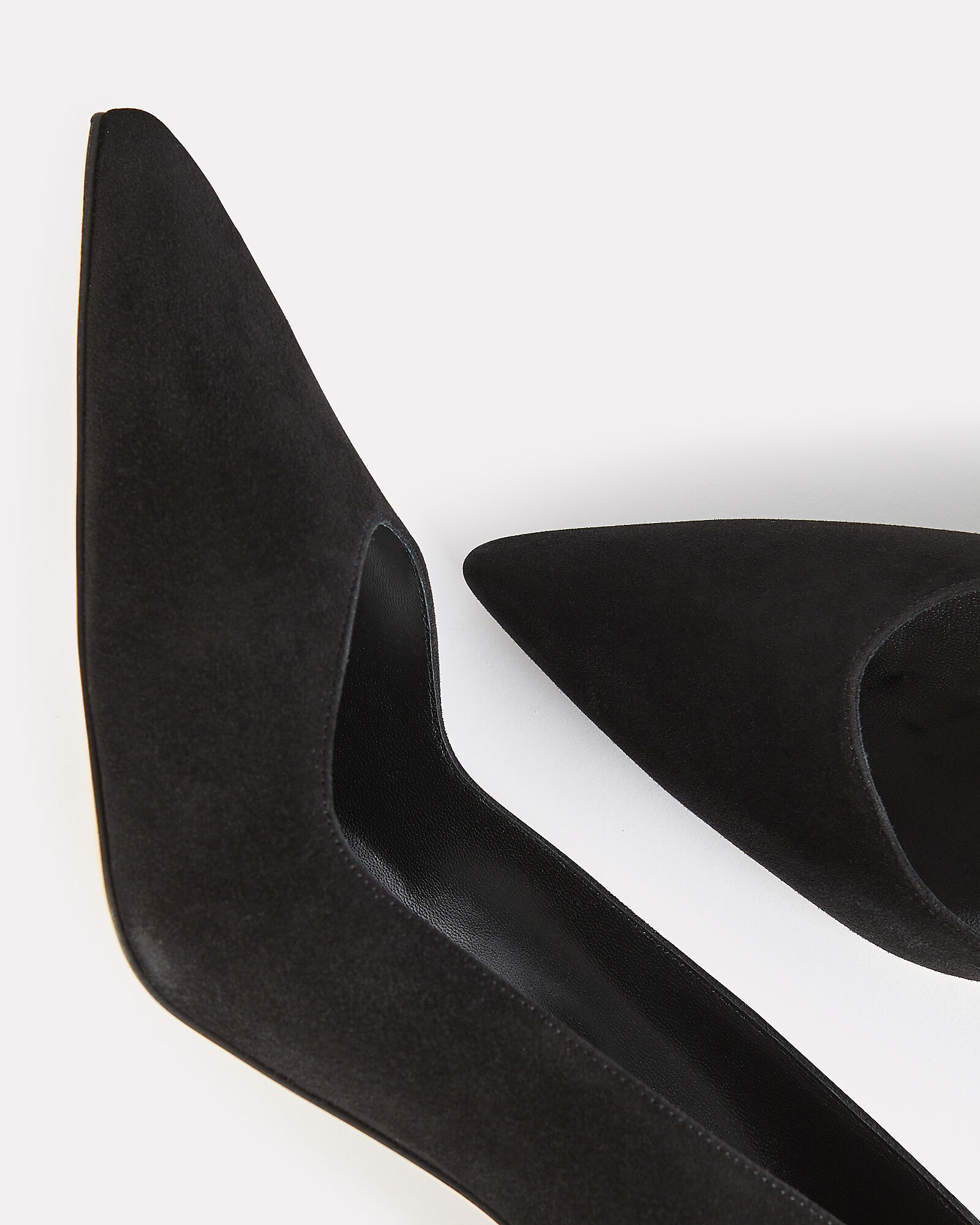 Eris 90 Suede Pumps, BLACK, hi-res