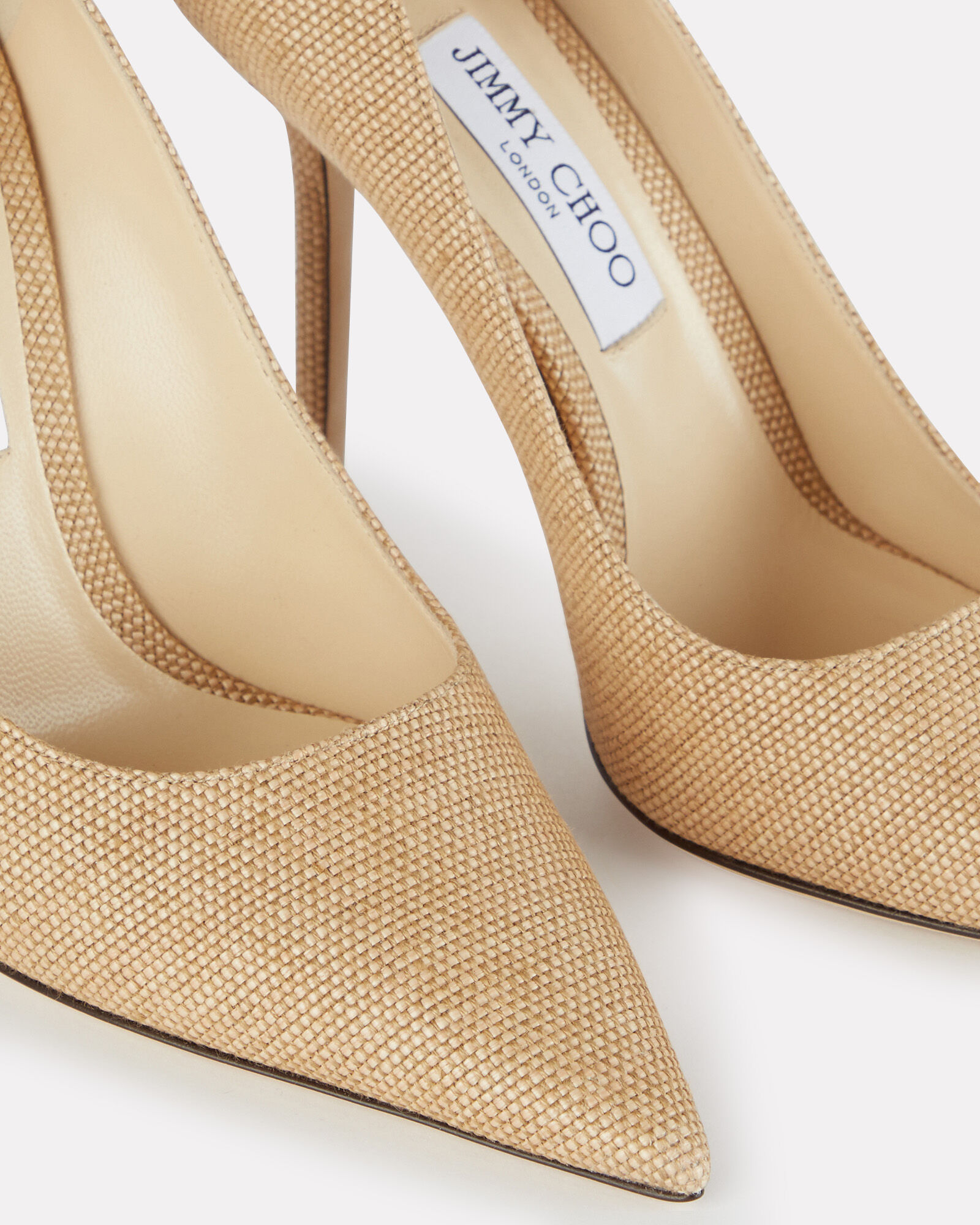 Love 100 Raffia Pumps, BEIGE, hi-res