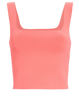 Victoria Knit Tank Top, PINK, hi-res