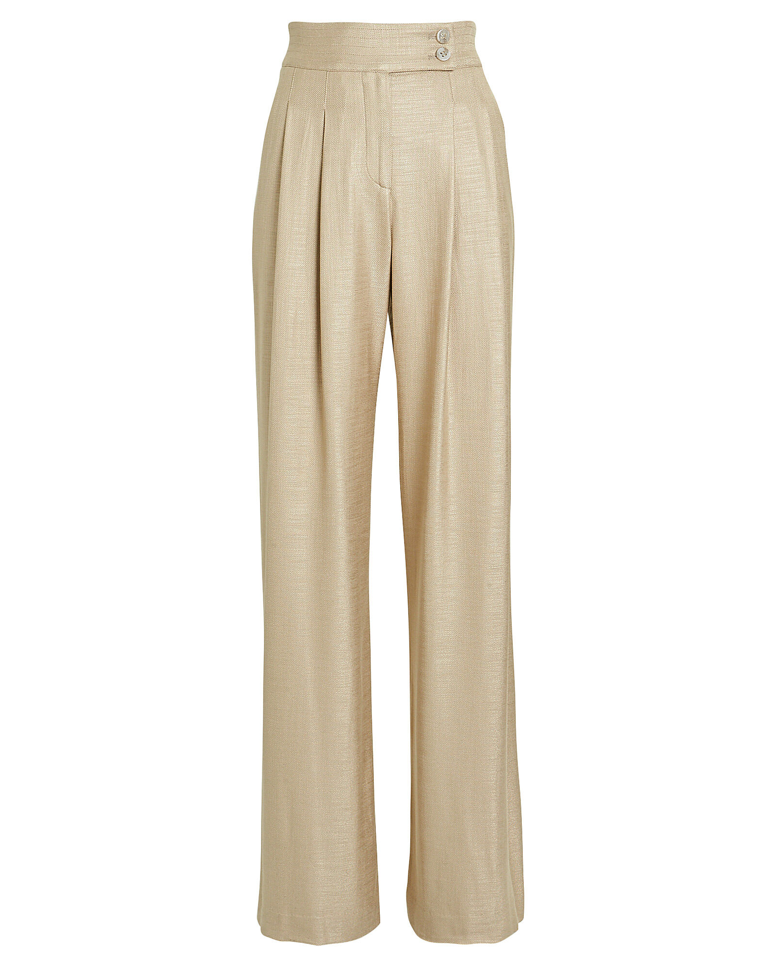 Elijah Wide-Leg Trousers, BEIGE, hi-res