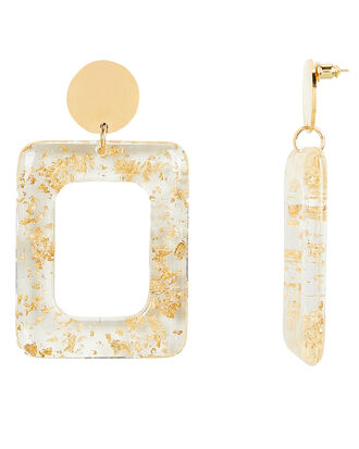 Milan Earrings, GOLD, hi-res