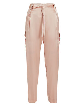 Roxy Paperbag Cargo Pants, BLUSH, hi-res