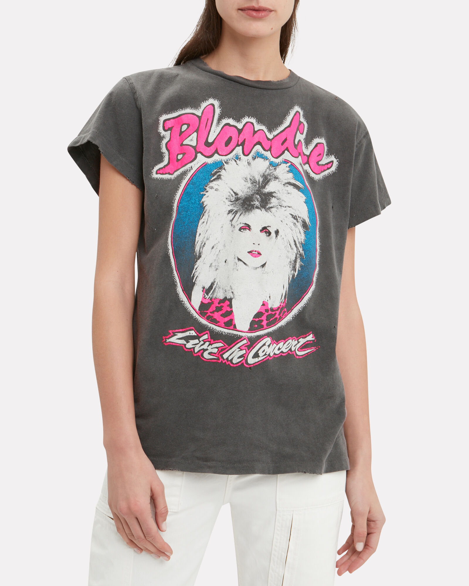 Blondie Live T-Shirt, FADED BLACK, hi-res