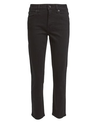 Lou Lou Ankle-Cropped Jeans, BLACK, hi-res