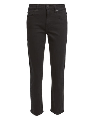 Lou Lou Ankle Cropped Jeans, BLACK, hi-res