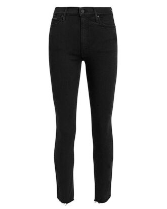 Stunner Step Hem Jeans, BLACK DENIM, hi-res
