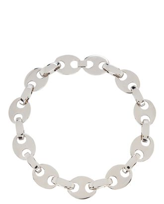 Eight Chain-Link Necklace, SILVER, hi-res