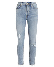 Mid 90s Stretch Skinny Jeans, LIGHT BLUE DENIM, hi-res