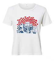 Women Of The World Graphic T-Shirt, IVORY, hi-res