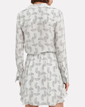 Isobel Printed Shirt Dress, BLK/WHT, hi-res