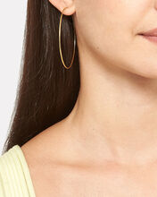 Endless Hoop Earrings, GOLD, hi-res