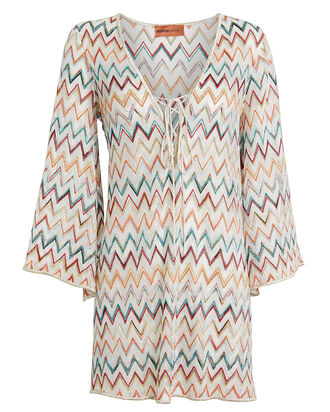 Chevron Knit Kaftan, MULTI, hi-res