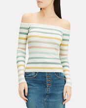 Robbie Striped Knit Top, MULTI, hi-res