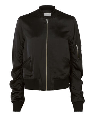 Andrew Bomber Jacket, BLACK, hi-res