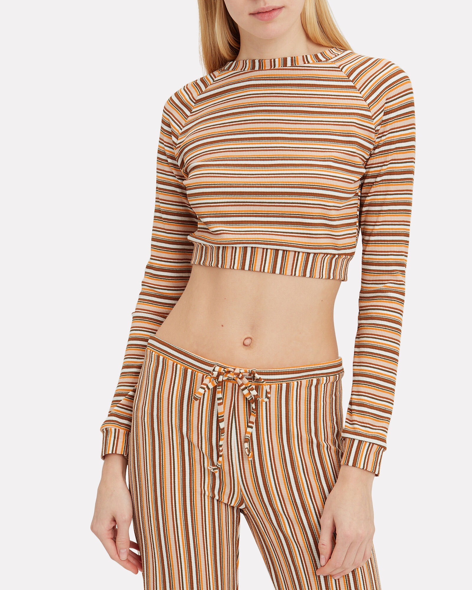 Sunny Striped Knit Sweater, MULTI, hi-res