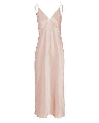 Issa Blush Slip Dress, BLUSH, hi-res