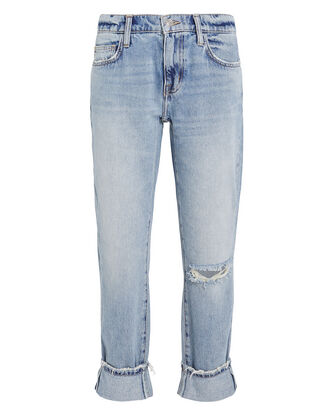 The Fling Ankle Cuff Jeans, LIGHT WASH DENIM, hi-res
