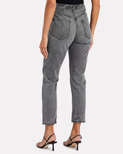 Riley High-Rise Straight Cropped Jeans, INKJET, hi-res