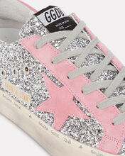 Hi Star Glitter Low-Top Sneakers, SILVER/PINK, hi-res