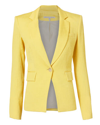 Bentley Lace-Up Back Jacket, YELLOW, hi-res